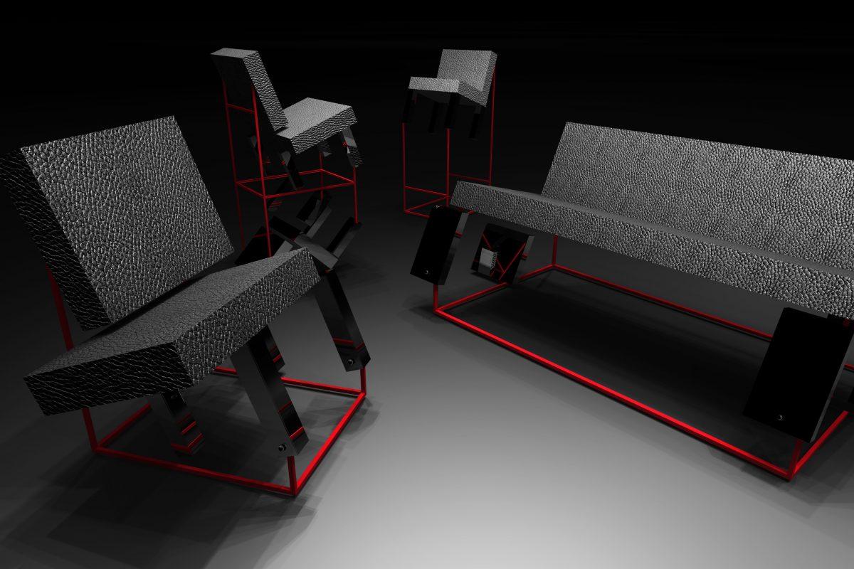 chair, sofa